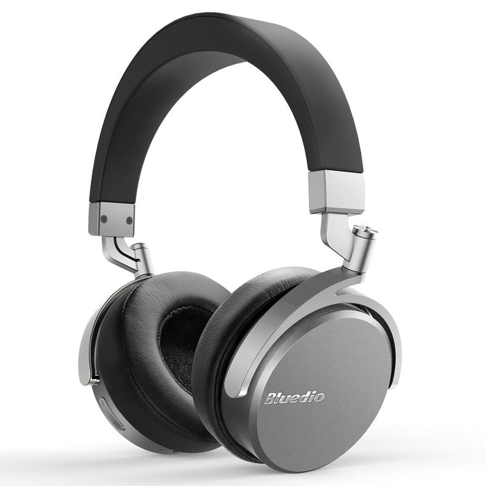 Bluedio Vinyl Wireless Bluetooth 4.1 On-Ear Headphones with Mic - Black/Silver