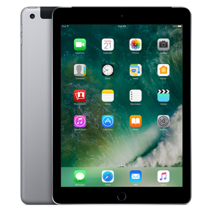 "Refurbished Apple iPad 9.7"" (2017) 32GB, WiFi & 4G - Space Grey"