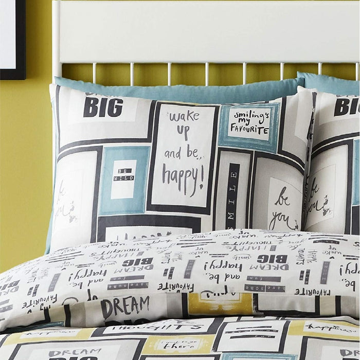 Catherine Lansfield Dream Big Duvet Cover Set