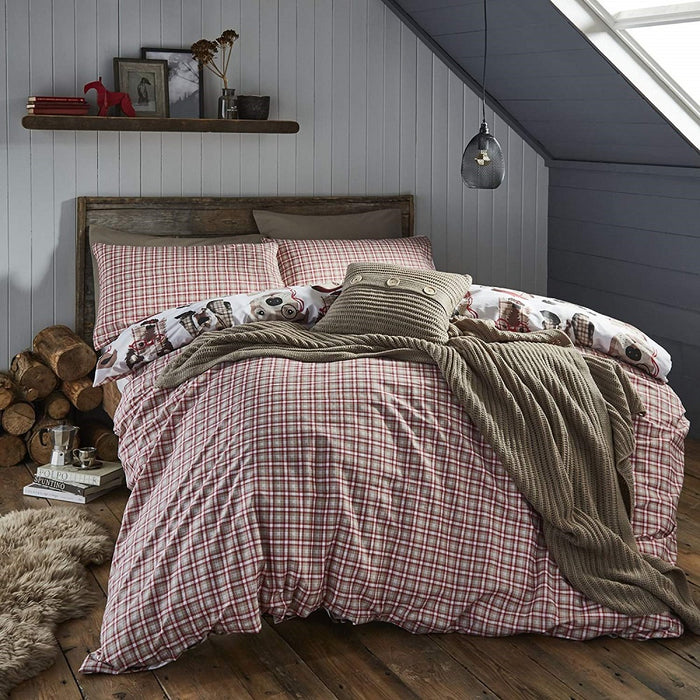 Catherine Lansfield Dapper Dogs single Duvet Set, Multi