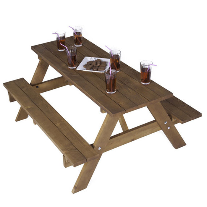 Brackenstyle Durham A-Frame Traditional Picnic Table - Seats 6