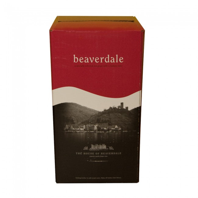 Beaverdale Merlot Red Wine Kit - 30 Bottle