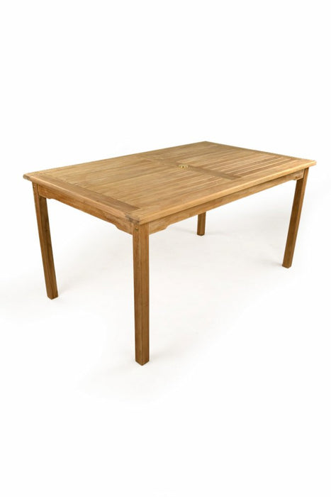 BrackenStyle Great Warwick Teak Rectangular Table - Brown