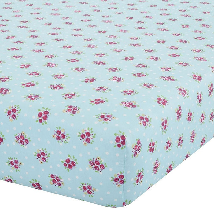 Catherine Lansfield Fairies Easy Care Single Fitted Sheet Pink