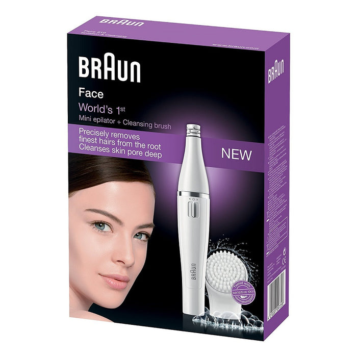 Braun SE810 Facial Epilator & Cleaning Brush