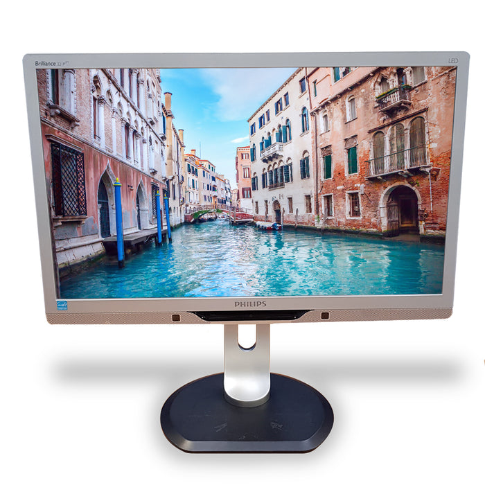 Certified Refurbished HP PC & Monitor, i3, 4GB, 500GB HDD, WiFi, W10, complete with Keyboard & Mouse