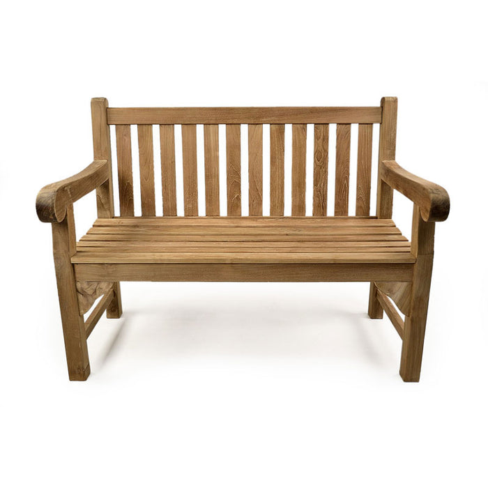 BrackenStyle Queensbury Two Person Teak Bench