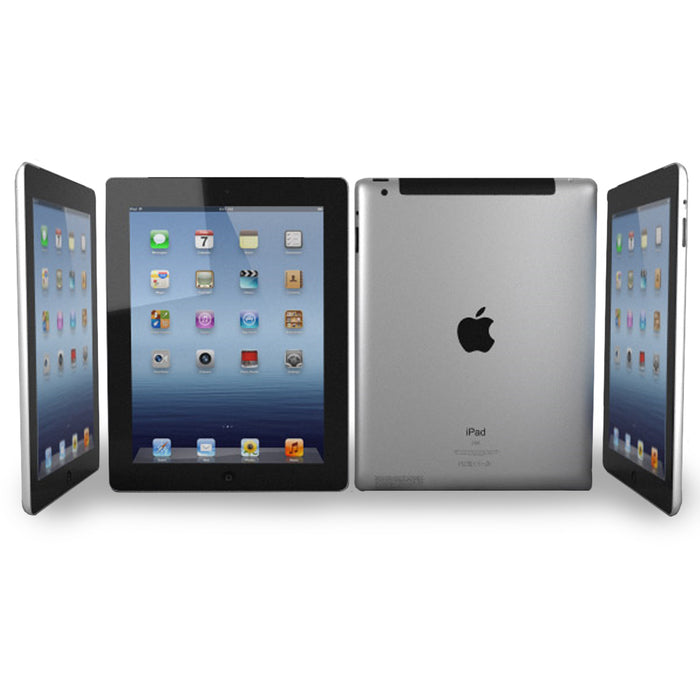 "Refurbished Apple iPad 4, 9.7"", 16GB, Wifi Only - Space Grey"
