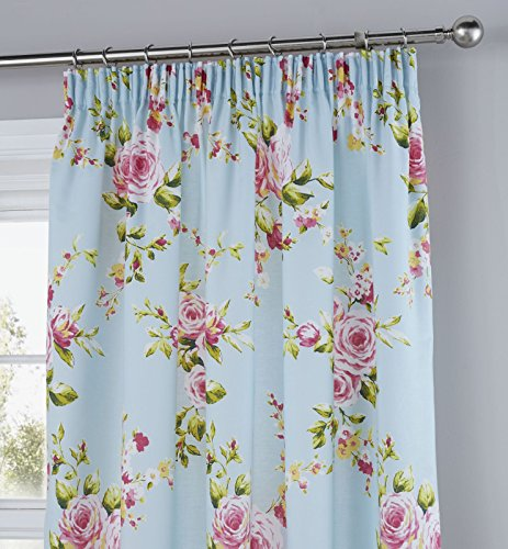 Catherine Lansfield Canterbury Curtains - 66x72 Inches (168x183cm)