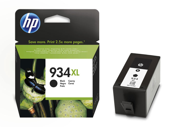 HP 934XL (Yield 1,000 Pages) Black Original Ink Cartridge
