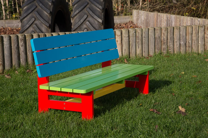 BrackenStyle Painted Nursery Bench Seats 3
