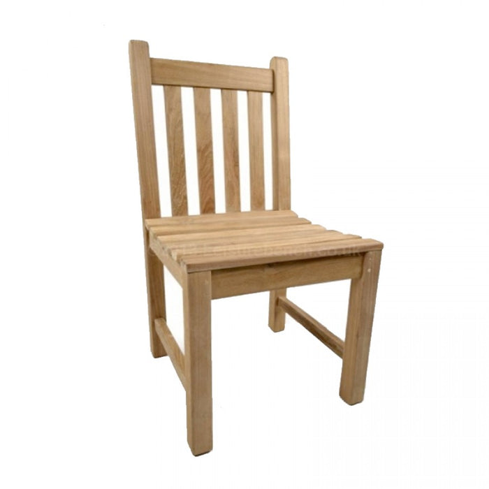 BrackenStyle Armless Warwick Teak Side Chair