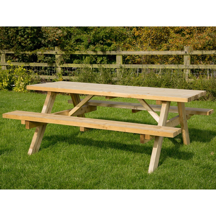 Brackenstyle A Frame Foster Picnic Table - Seats 8