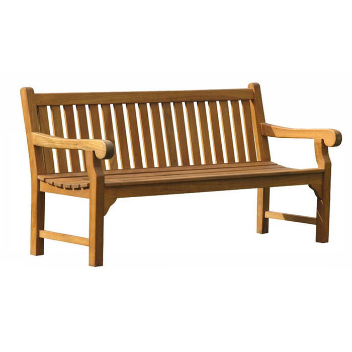 BrackenStyle Queensbury Four Person Teak Bench
