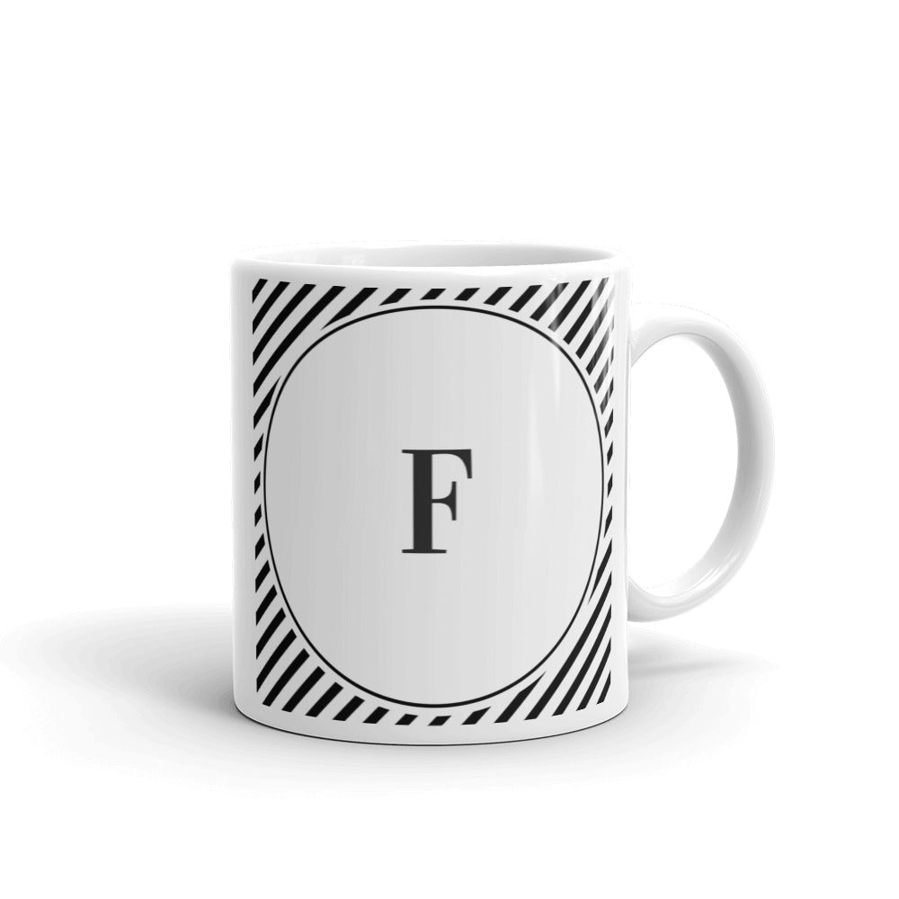 Sydney Collection F mug - Pretty Ventura