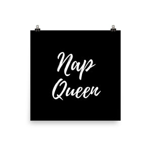 Nap queen black print - Pretty Ventura