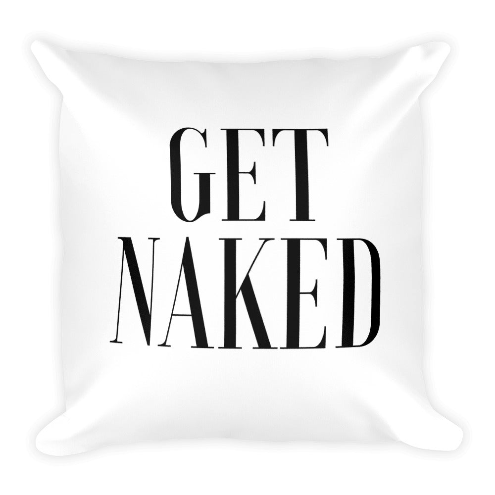 Get naked white cushion