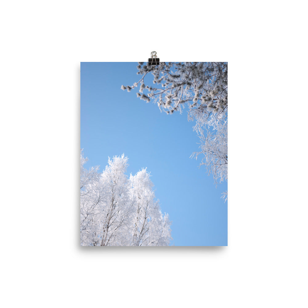 Winter sky print - Pretty Ventura