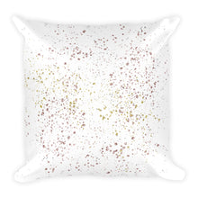 Champagne glitters pattern cushion
