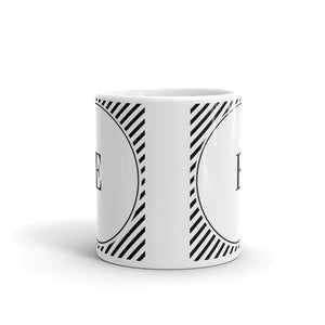 Sydney Collection E mug - Pretty Ventura