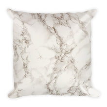 Classic marble cream cushion