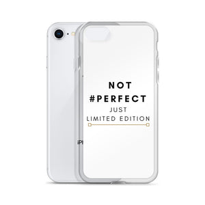 Not perfect just limited edition iPhone case - Pretty Ventura