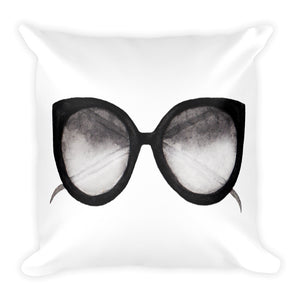 Sunglasses watercolour cushion