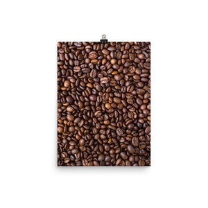 Coffee beans print - Pretty Ventura