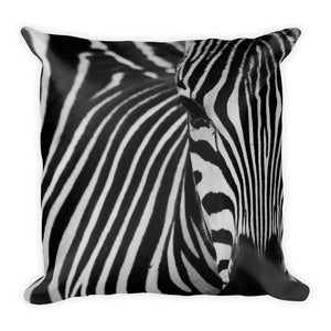 Zebra looking cushion