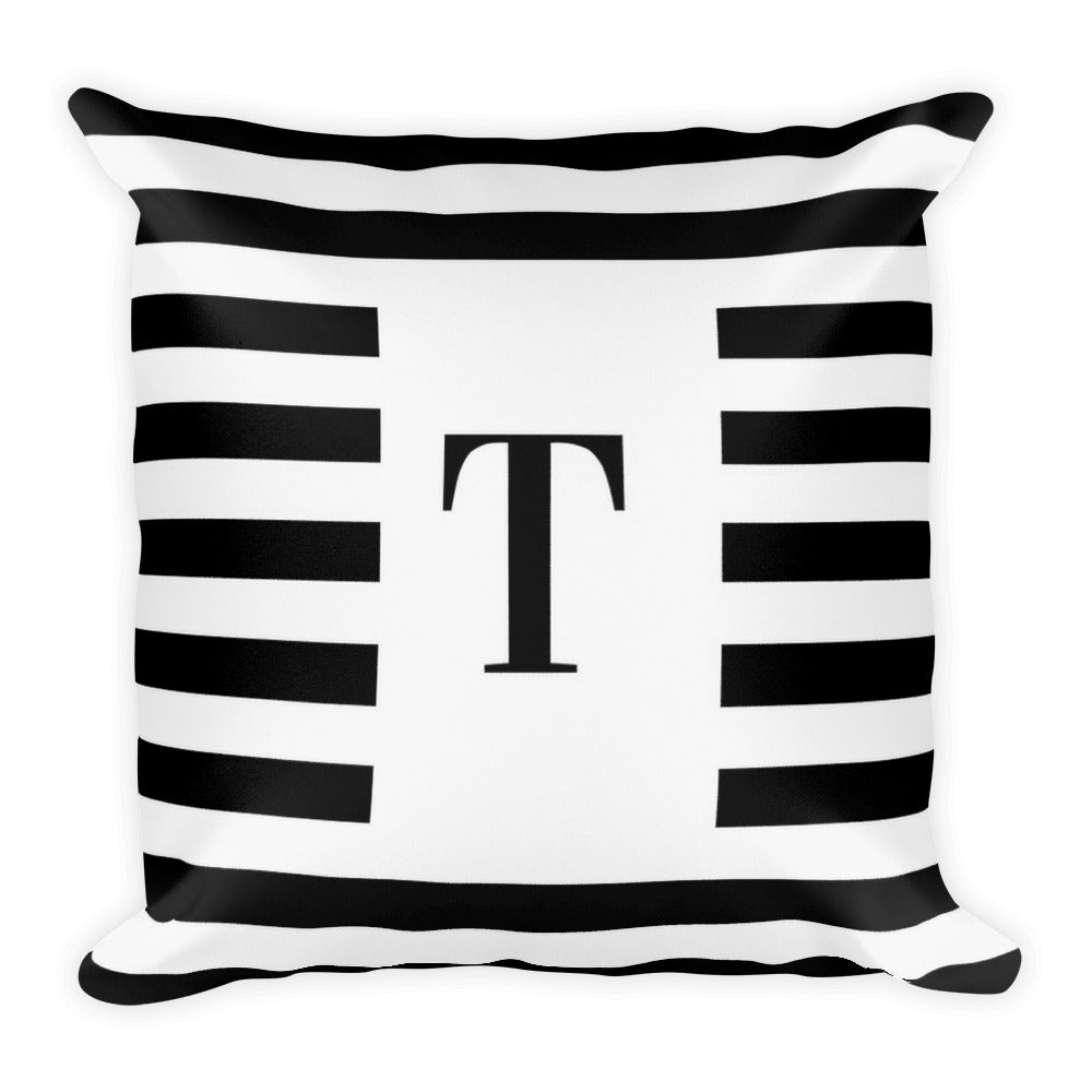Monaco Collection T cushion - Pretty Ventura