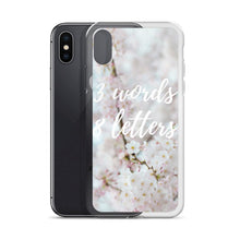 3 Words 8 letters iPhone case - Pretty Ventura