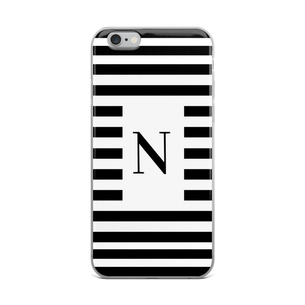 Monaco Collection N iPhone case - Pretty Ventura