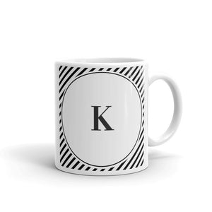 Sydney Collection K mug - Pretty Ventura