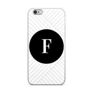 Santorini Collection F iPhone case