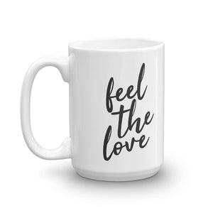 Feel the love mug