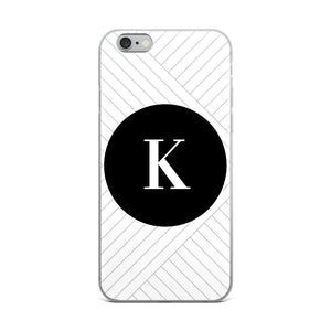 Santorini Collection K iPhone case