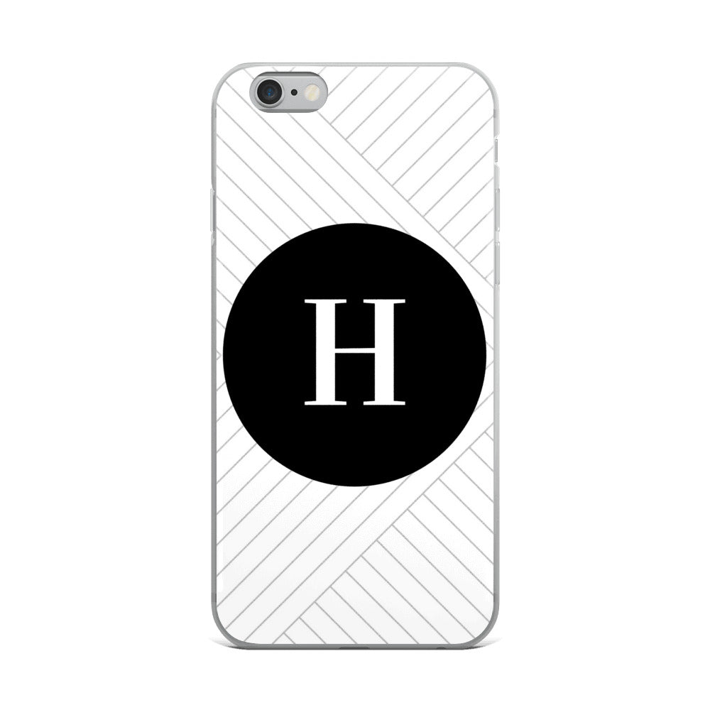 Santorini Collection H iPhone case