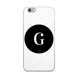 Santorini Collection G iPhone case
