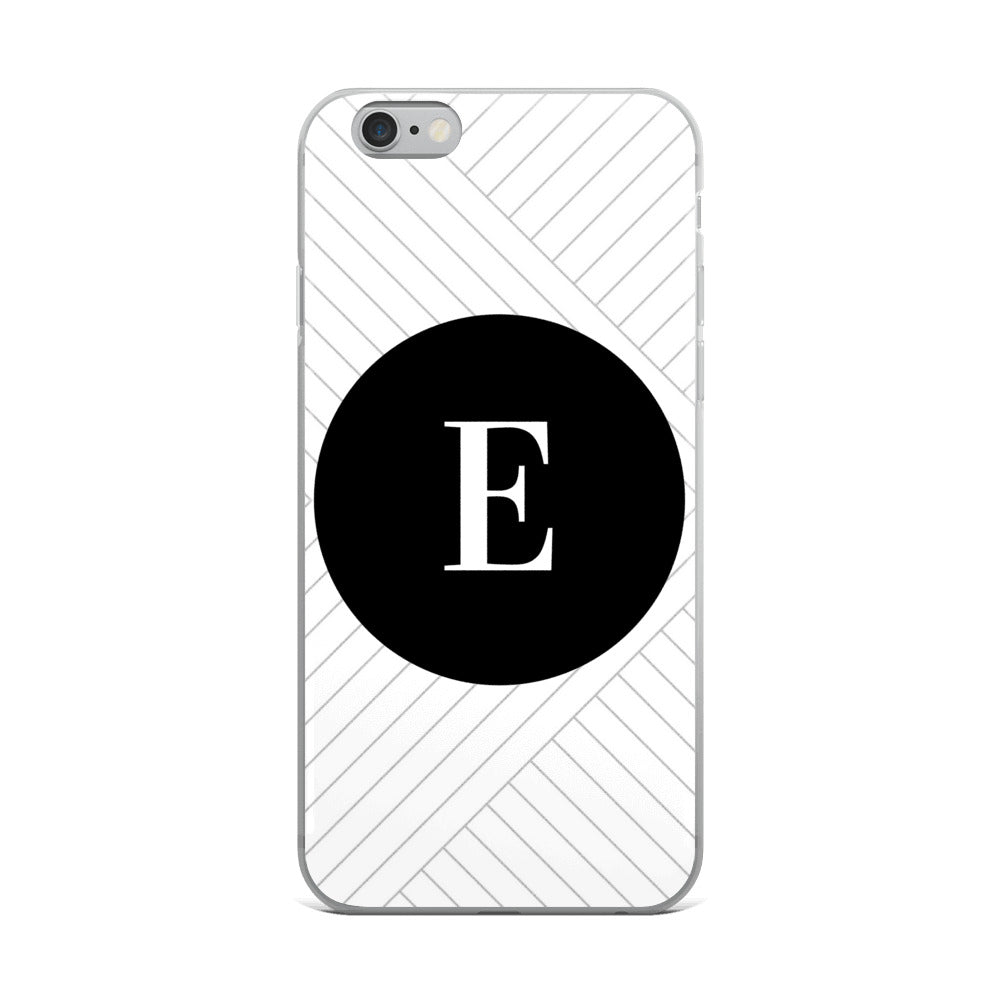 Santorini Collection E iPhone case