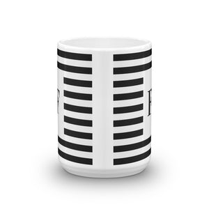Monaco Collection F mug - Pretty Ventura