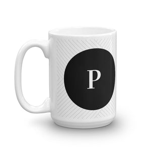 Santorini Collection P mug - Pretty Ventura
