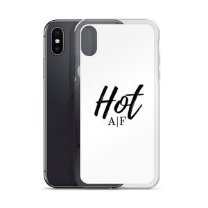 Hot A|F white iPhone Case