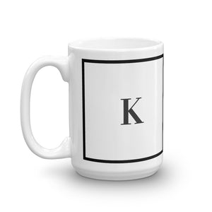 New York Collection K mug - Pretty Ventura