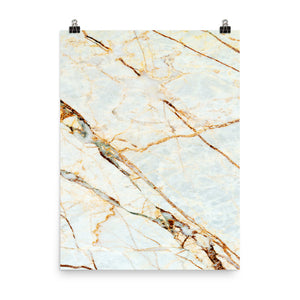 Classic marble ice print