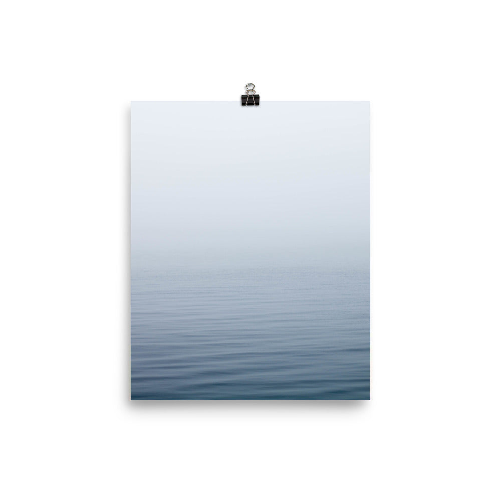 Calm sea print - Pretty Ventura