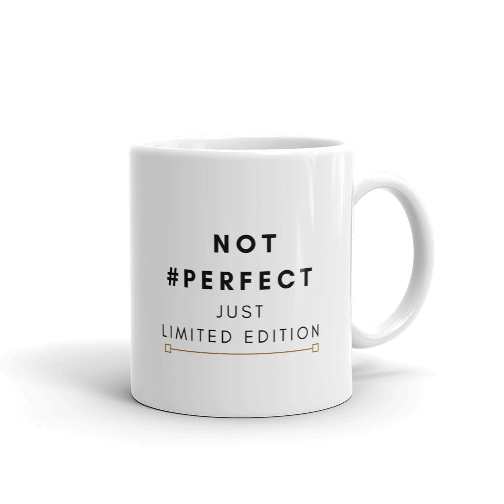 Not perfect just limited edition mug