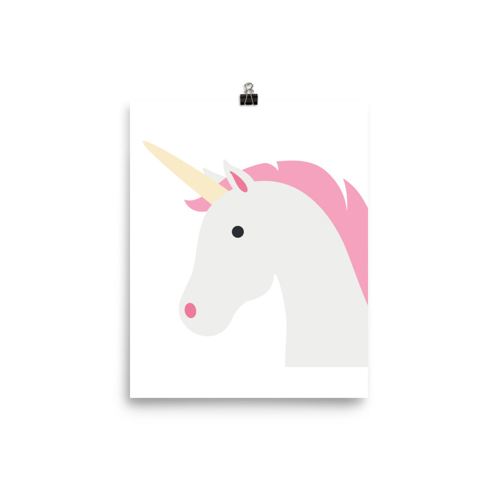 Unicorn kids print
