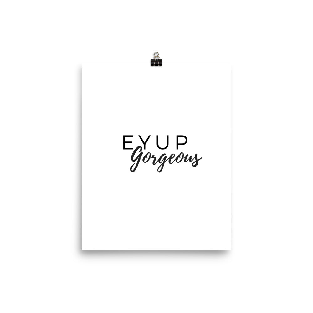 Eyup gorgeous white print - Pretty Ventura