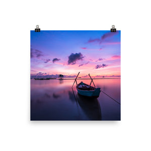 Purple sky print - Pretty Ventura