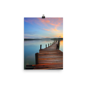 Boardwalk print - Pretty Ventura